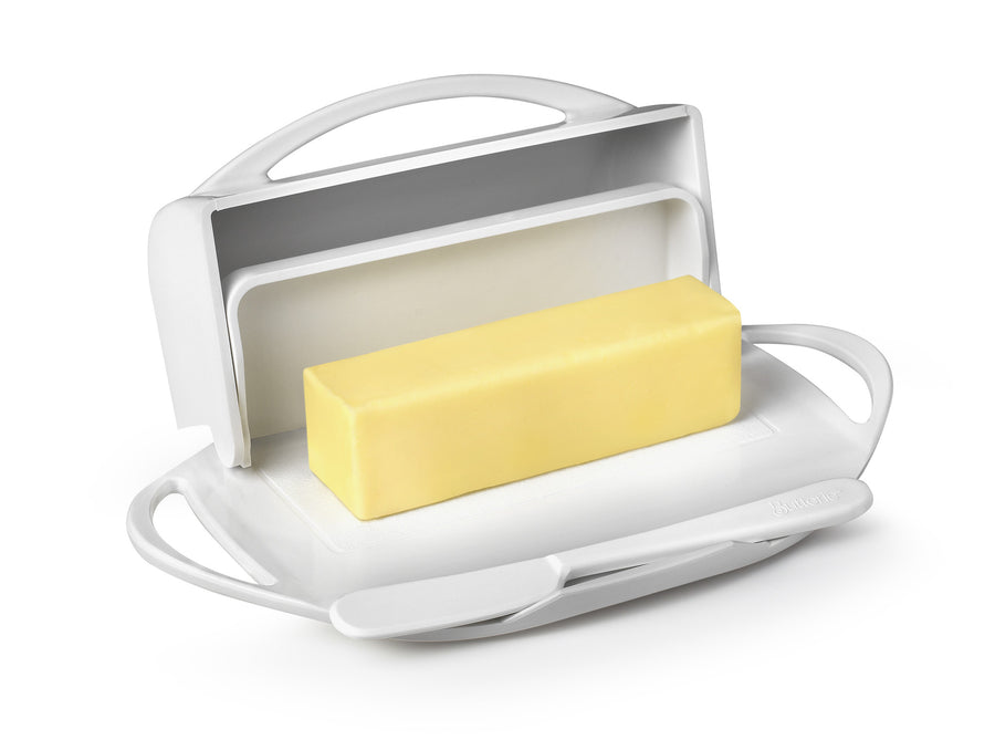 Large White Butter Dish