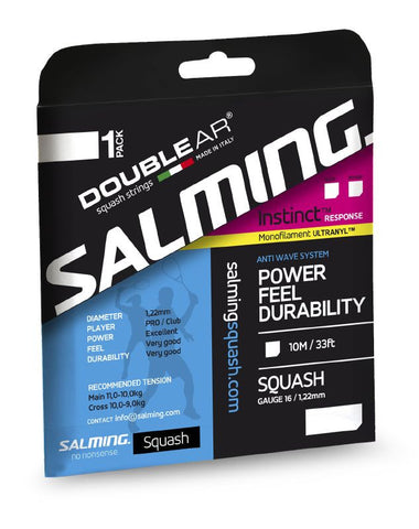 Salming Instinct Response Black Strings - Hutkay.fit