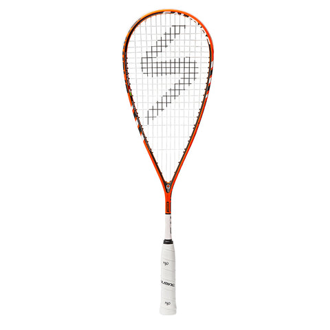 Salming Cannone Feather Aero Vectran - Orange/White Racquets - Hutkay.fit