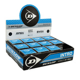 Dunlop Intro Ball - Single Blue Dot - 12 Pack Balls - Hutkay.fit