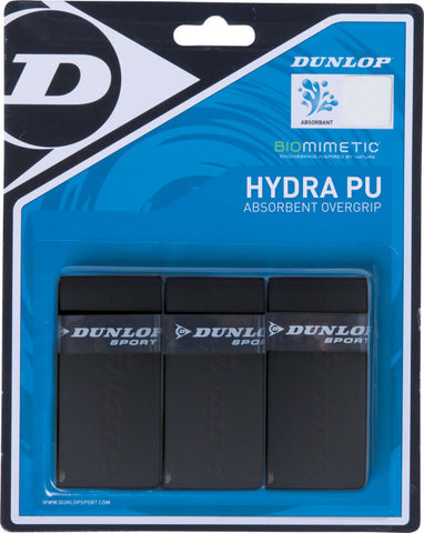 Dunlop Hydra PU Overgrip - 3 pack Grips - Hutkay.fit
