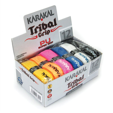 Karakal PU Super Tribal Grip - Assorted Colors Grips - Hutkay.fit