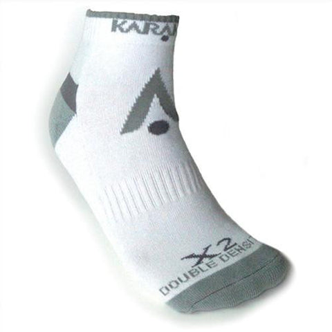 Karakal X2-Technical Trainer Sock in white-grey - Hutkay.fit