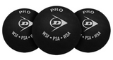 Dunlop Pro Double Yellow Dot Ball - 3 Pack Balls - Hutkay.fit