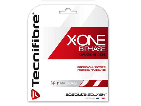 Tecnifibre X-ONE BiPhase set squash strings - Hutkay.fit