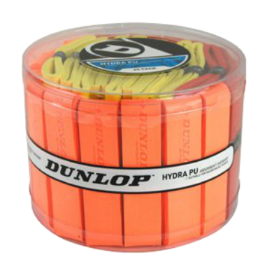 Dunlop Hydra PU Overgrip - 60 pack tub Grips - Hutkay.fit