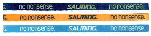 salming authentic hairband 3pack cyan-blue mixed Headbands - Hutkay.fit