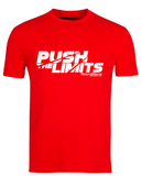 Tecnifibre Push the Limits Tee shirt in red orange - Hutkay.fit
