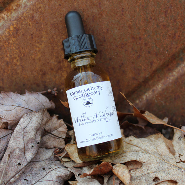 Calm - Herbal Bitters - Corner Alchemy Apothecary