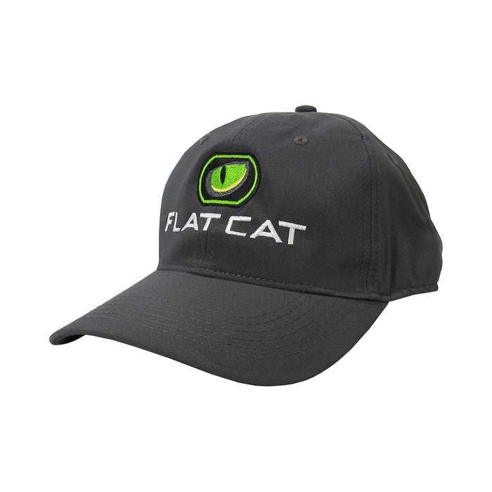 FLAT CAT Golf Hat in Grey