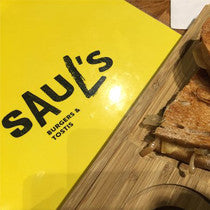 Saul's Burgers and Tosti's