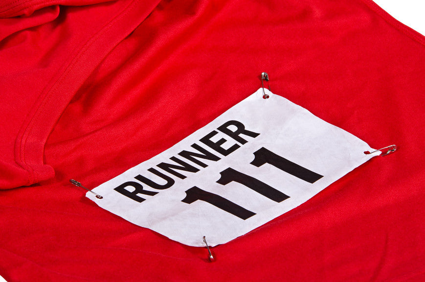 12 Gifts for Runners: Day 6- Race Bib Displays