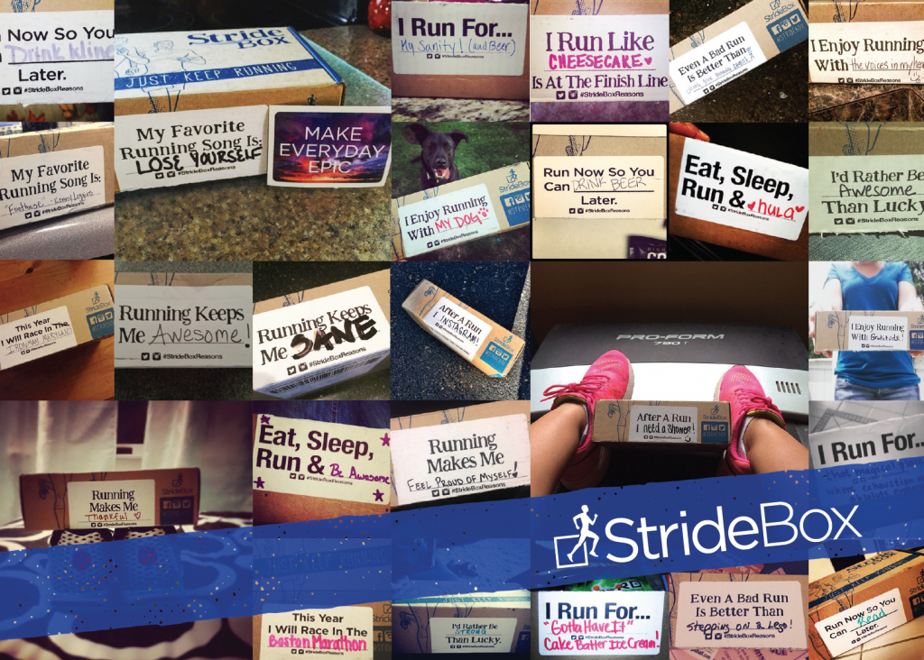 February 2016 StrideGuide – #StrideBoxReasons
