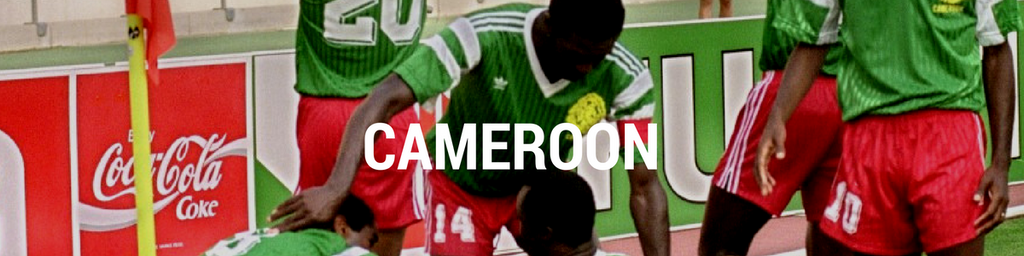 Cameroon football shirts