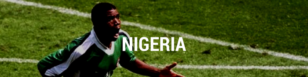 Nigeria football shirts