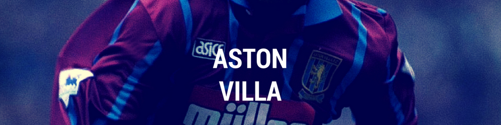 Aston Villa football shirts