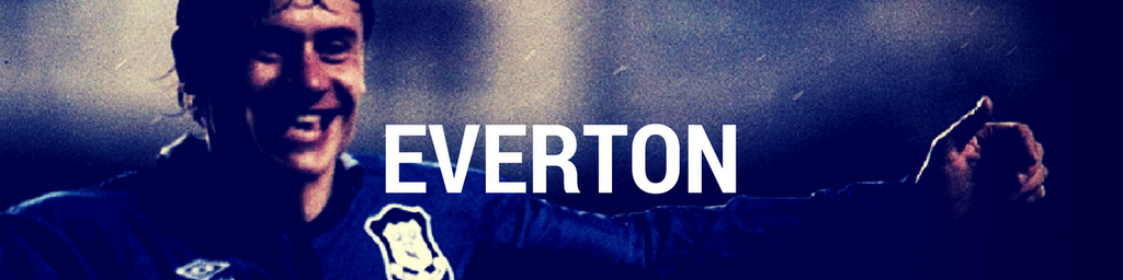 Everton football shirts