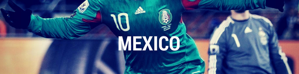 Mexico football shirts