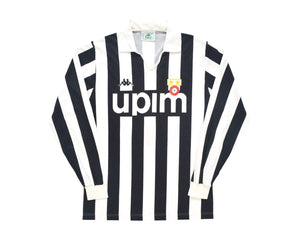 1989-90 Kappa Juventus Home Shirt M '7' - Football Shirt Collective