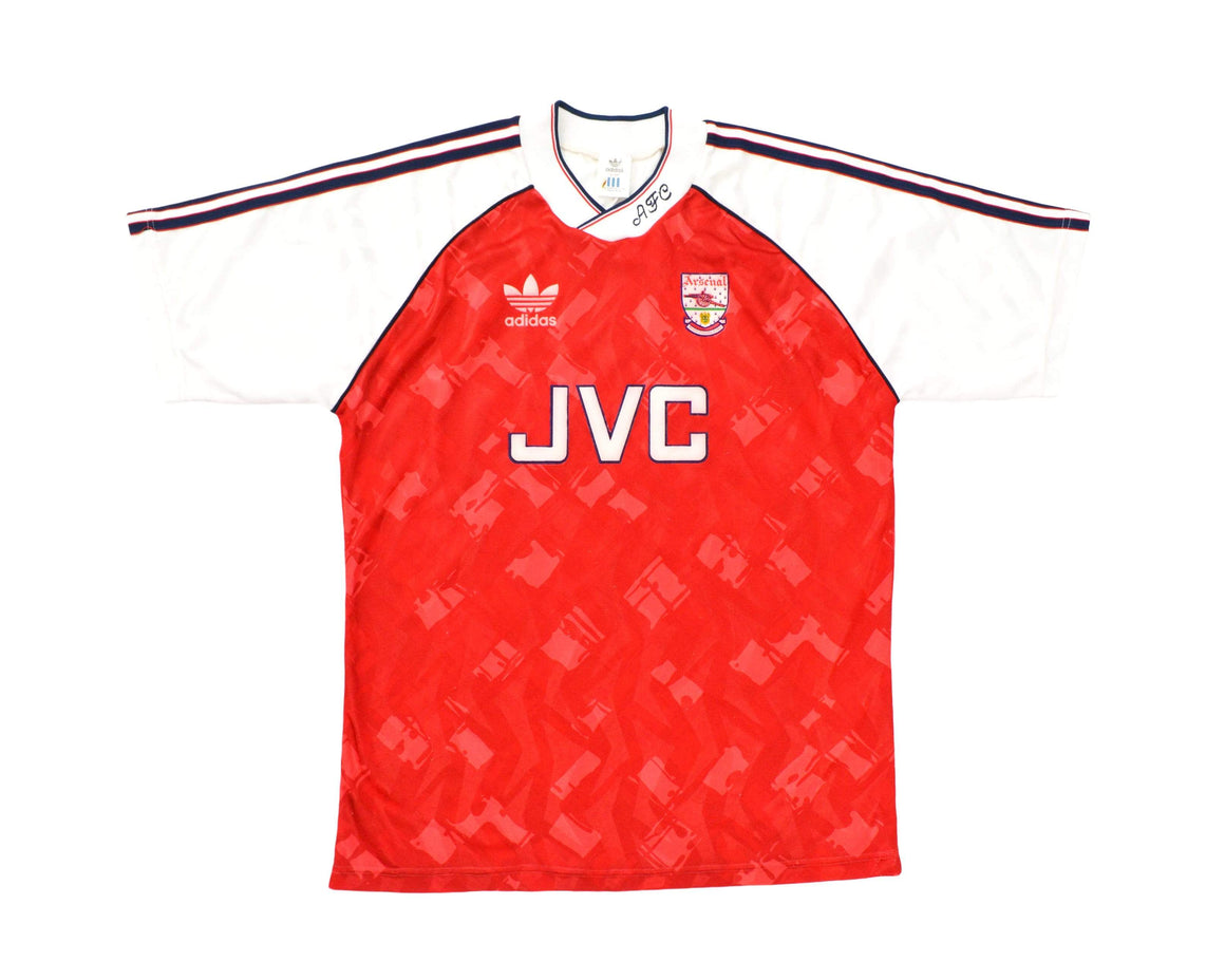 Calcio Vintage Club 1990-92 Adidas Arsenal Home Shirt L