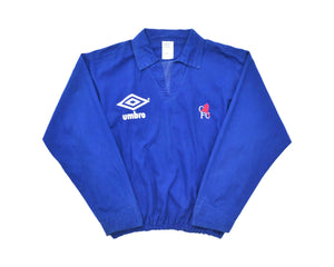Calcio Vintage Club 1990-92 Umbro Chelsea Drill Top L/XL