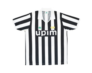 Calcio Vintage Club 1991-92 Kappa Juventus Home Shirt L