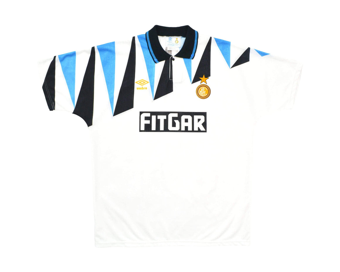 Calcio Vintage Club 1991-92 Umbro Inter Milan Away Shirt XL