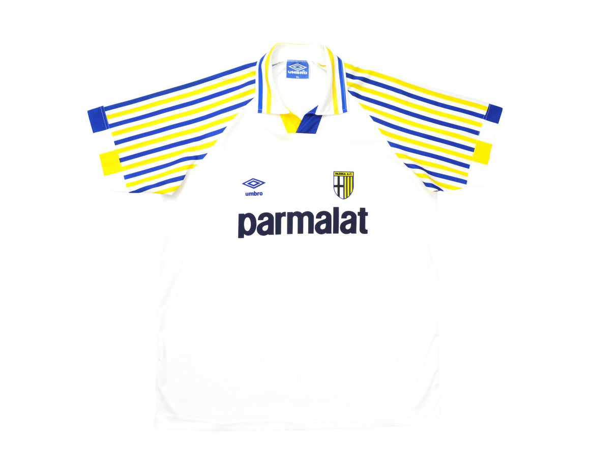 Calcio Vintage Club 1991-92 Umbro Parma Home Shirt XL