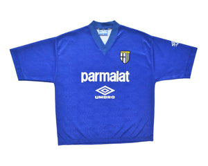Calcio Vintage Club 1991-92 Umbro Parma Training Shirt XL