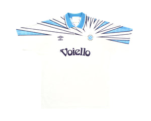 Calcio Vintage Club 1991-93 Umbro Napoli Away Shirt L/XL