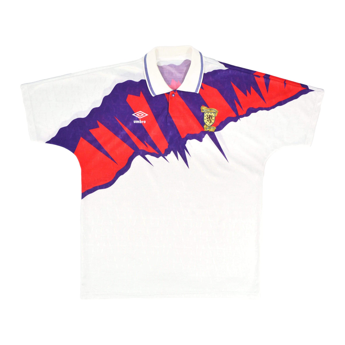 1991-93 Umbro Scotland Away Shirt L - Football Shirt Collective