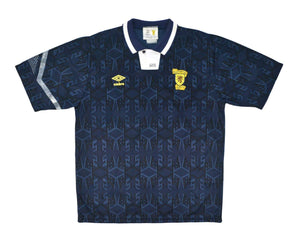 1991-94 Umbro Scotland Home Shirt L - Football Shirt Collective