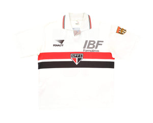 Calcio Vintage Club 1991 Penalty Sao Paulo Home Shirt '10' M/L