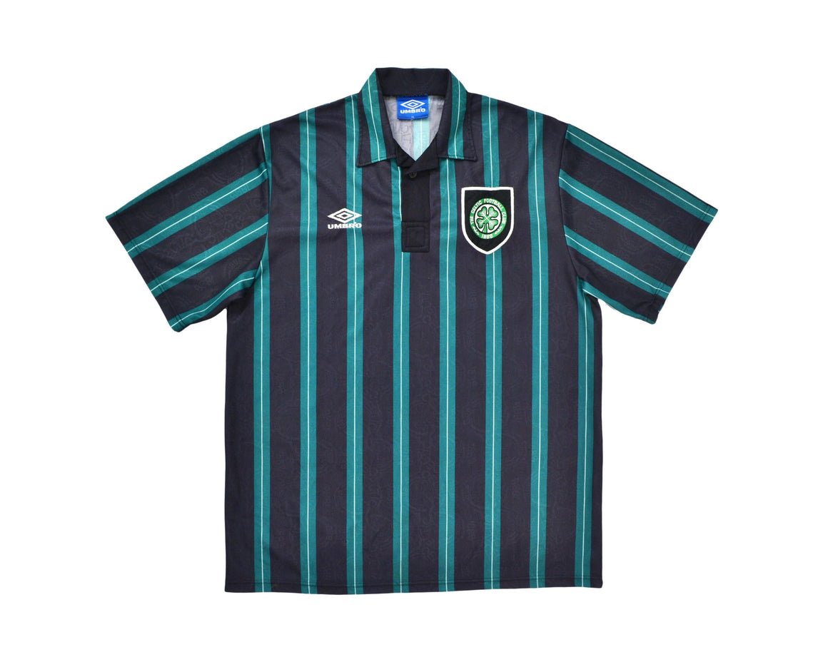 Calcio Vintage Club 1992-93 Umbro Celtic Away Shirt XL
