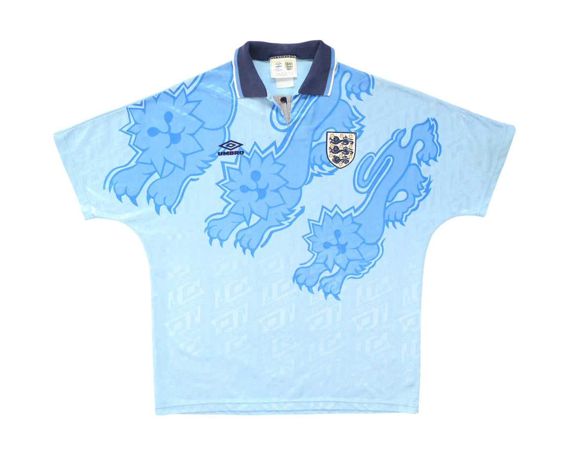 Calcio Vintage Club 1992-93 Umbro England Third Shirt XL