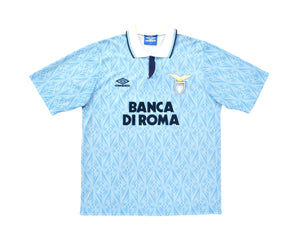 Calcio Vintage Club 1992-93 Umbro Lazio Home Shirt M