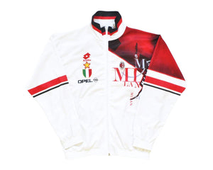 1993-94 Lotto AC Milan Track Top L - Football Shirt Collective