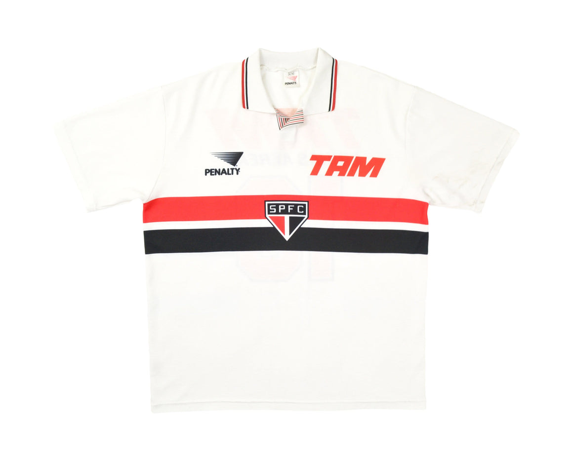 Calcio Vintage Club 1993-94 Penalty Sao Paulo Home Shirt '10 Juninho' XL