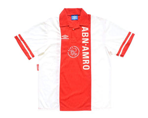 1993-94 Umbro Ajax Home Shirt XL - Football Shirt Collective
