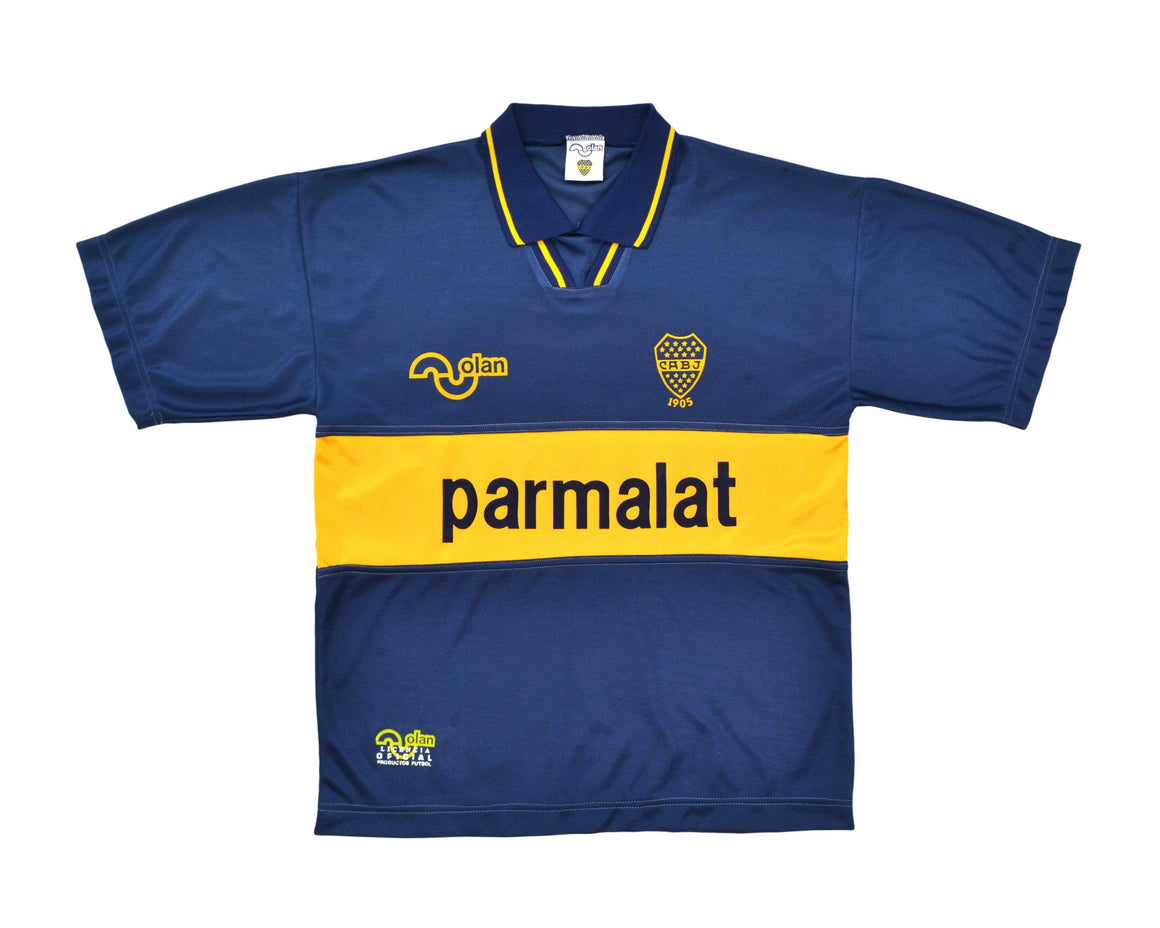 Calcio Vintage Club 1993-95 Olan Boca Juniors Home Shirt L