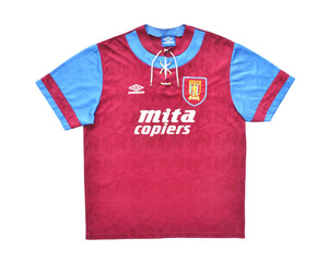 Calcio Vintage Club 1993-95 Umbro Aston Villa Home Shirt XL