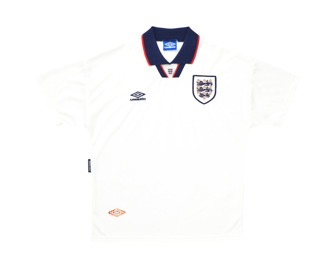 Calcio Vintage Club 1993-95 Umbro England Home Shirt L