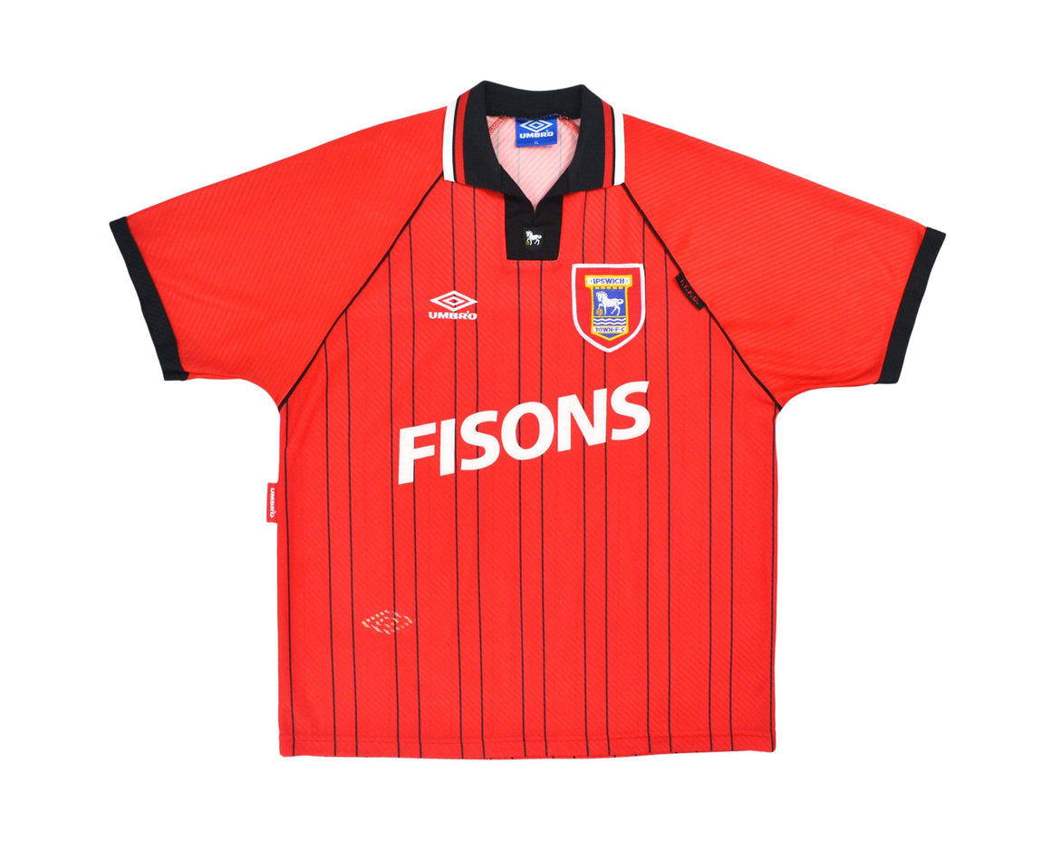 Calcio Vintage Club 1993-95 Umbro Ipswich Town Away Shirt XL