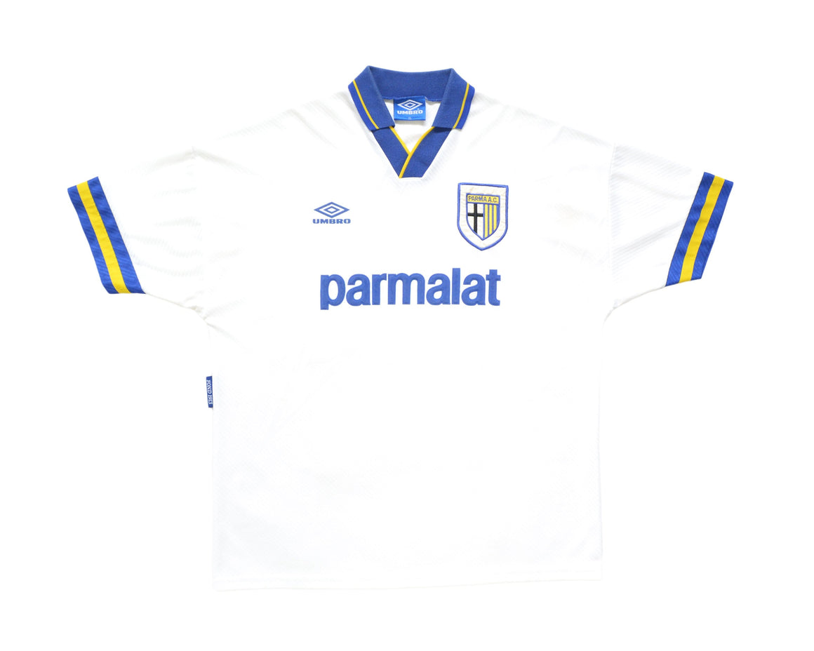 Calcio Vintage Club 1993-95 Umbro Parma Home Shirt XL