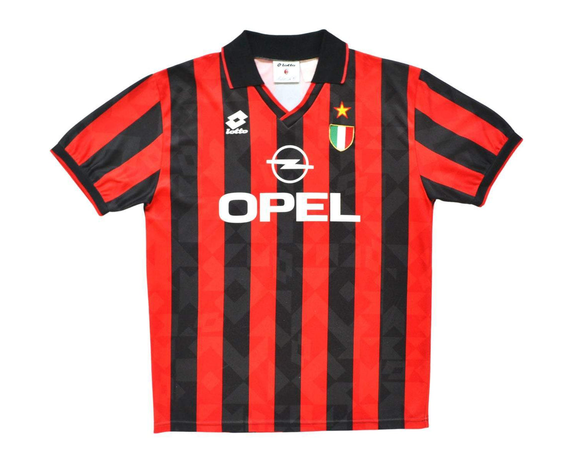 Calcio Vintage Club 1994-95 Adidas AC Milan Home Shirt '9' XL