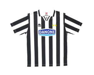 Calcio Vintage Club 1994-95 Kappa Juventus Basic Home Shirt L