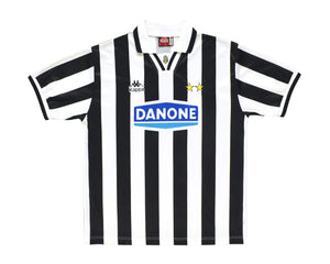 1994-95 Kappa Juventus Home Shirt L - Football Shirt Collective