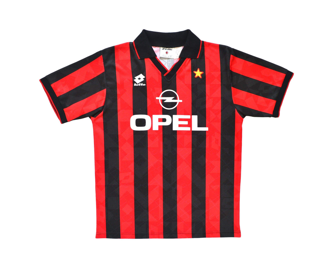 Calcio Vintage Club 1994-95 Lotto AC Milan Home Shirt L