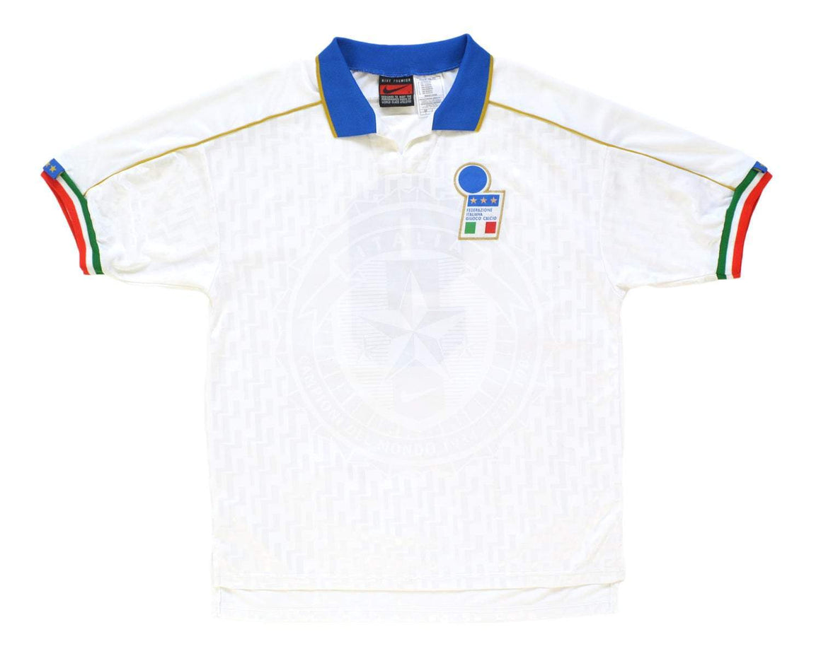 Calcio Vintage Club 1994-96 Nike Italy Match Issue Away Shirt '9' L
