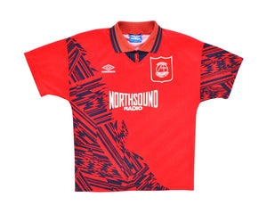 Calcio Vintage Club 1994-96 Umbro Aberdeen Home Shirt M